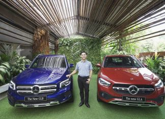 Mercedes-Benz New GLA dan New GLB